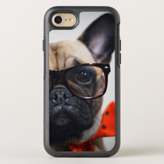 French Bulldog With Glasses And Bow Tie OtterBox Symmetry iPhone 8/7 Case