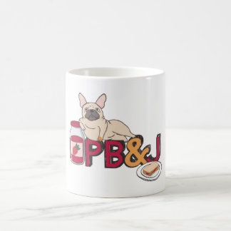 French Bulldog With Peanut Butter & Jelly Coffee Mug