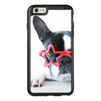 French Bulldog With Red Star Glasses OtterBox iPhone 6/6s Plus Case