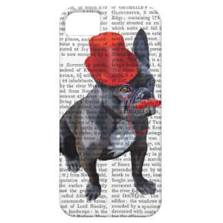French Bulldog With Red Top Hat and Moustache iPhone 5 Case