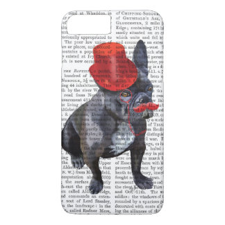 French Bulldog With Red Top Hat and Moustache iPhone 8 Plus/7 Plus Case