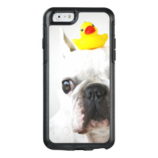 French Bulldog With Rubber Duck OtterBox iPhone 6/6s Case