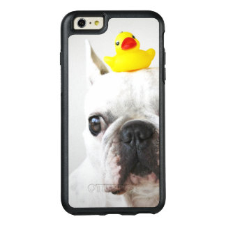 French Bulldog With Rubber Duck OtterBox iPhone 6/6s Plus Case