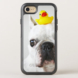 French Bulldog With Rubber Duck OtterBox Symmetry iPhone 8/7 Case