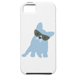 French Bulldog with sunglasses iPhone 5 Covers