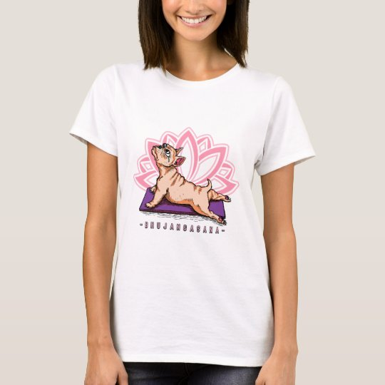 French Bulldog Yoga - Bhujangasana Pose - Funny