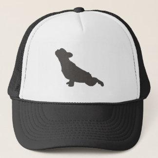 French Bulldog Yoga Pose Trucker Hat
