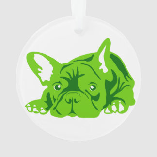 French Bulldogge green