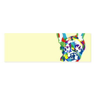 French Bulldogge puppy Pack Of Skinny Business Cards