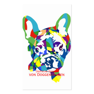 French Bulldogge puppy Pack Of Standard Business Cards