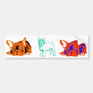 French Bulldoggen Bumper Sticker