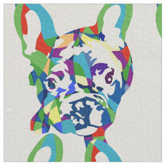 French Bulldogs all over Fabric