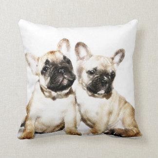 French Bulldogs American Mojo pillow