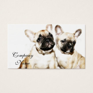 French Bulldogs Business Card
