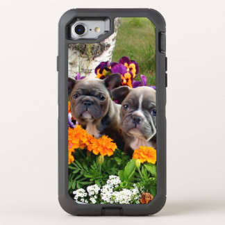 French Bulldogs Otterbox phone OtterBox Defender iPhone 8/7 Case