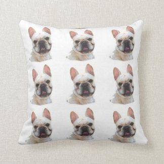 French Bullodg American Mojo pillow