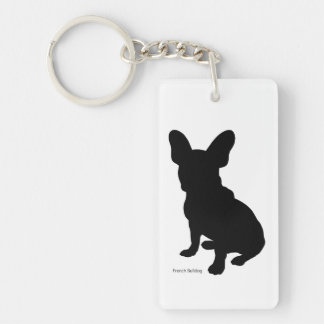 French burudotsugukihoruda french bulldog keychain