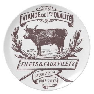 French Butcher Plate