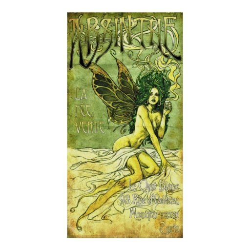 French Cafe Poster c1885