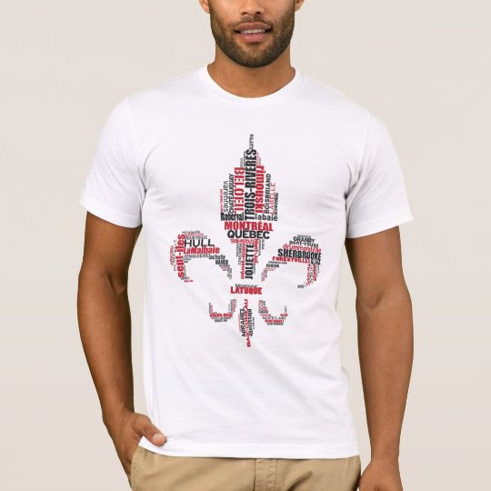 French Canadian Quebec Tribute T-Shirt