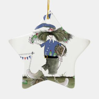 french capitaine footballeur christmas ornament
