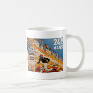 french car race vintage - 24h du Mans Coffee Mug