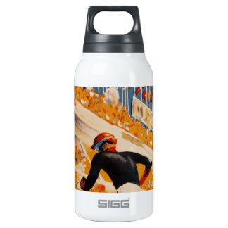 french car race vintage - 24h du Mans Insulated Water Bottle