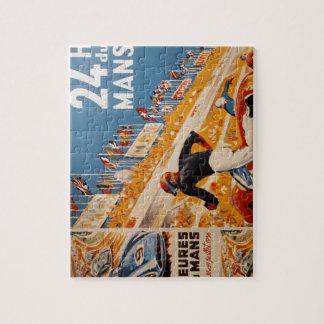 french car race vintage - 24h du Mans Jigsaw Puzzle