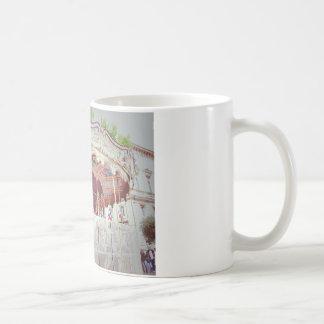 French carousel coffee mug