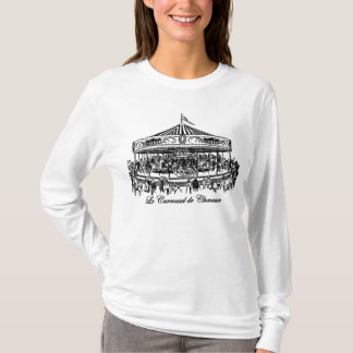 French Carousel Horses Apparel and Gifts T-Shirt