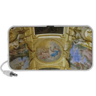 french ceiling painting notebook speaker