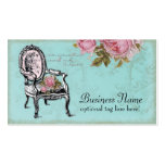 French Chair Business Card