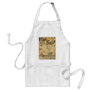 French Champagne-1899 - distressed Standard Apron