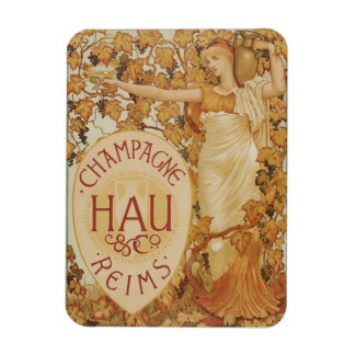 French Champagne ad Magnet