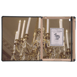 French Chandelier, Rococo In Paris iPad Cover