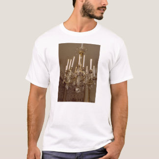 French Chandelier, Rococo In Paris T-Shirt