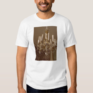French Chandelier, Rococo In Paris T Shirts