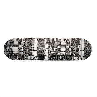 French chateau in USA Skate Board