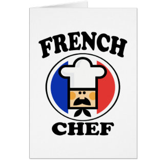 French Chef Greeting Card