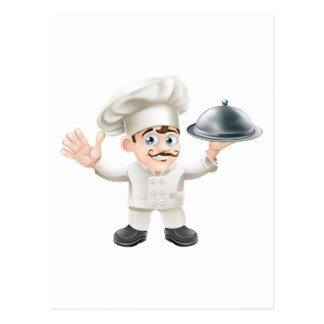 French chef post card