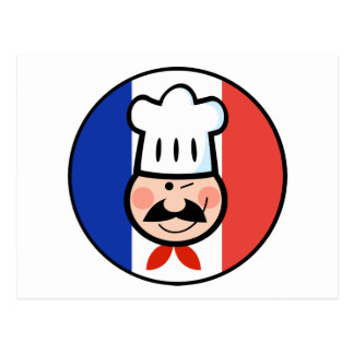 French Chef Post Cards