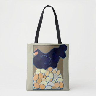 French  Chicken Tote Bag