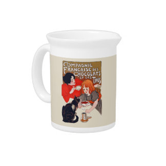 French Chocolate Party Pitcher