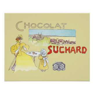 French Chocolate Vintage Candy Advertising Posters