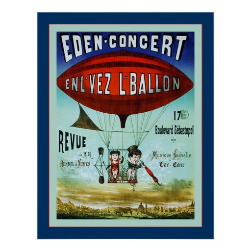 French Circus ~ Vintage Advertising Poster