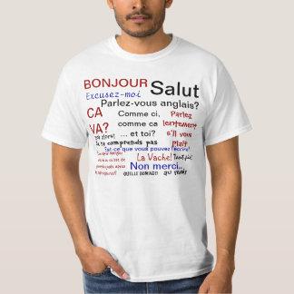 French class - parlez francais? tshirt