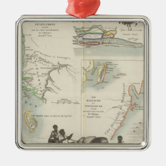 French Colonies in Africa Christmas Ornament