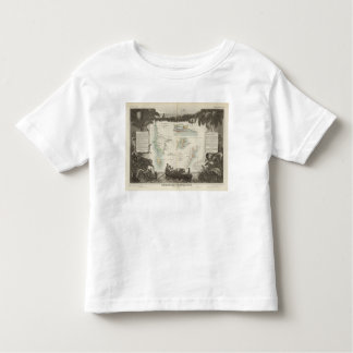 French Colonies in Africa Toddler T-Shirt
