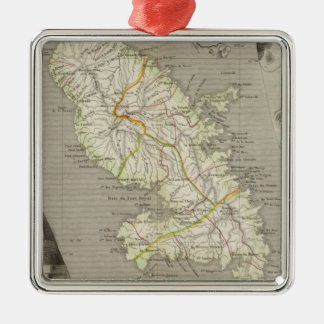 French Colonies Martinique Christmas Ornament