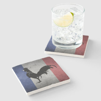 French coq stone coaster